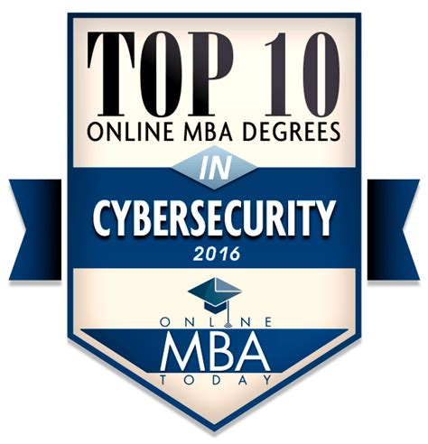 Major Mba by Top 10 Mba Degrees In Cybersecurity 2016