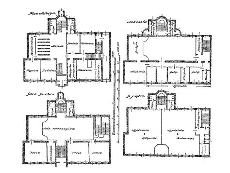 Dom Sierot Krochmalna 92 House Plans Of Architects
