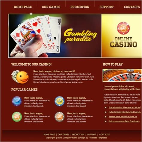 poker affiliate website template tdtoday0i over blog com