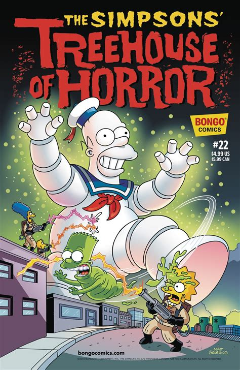treehouse of horror 21 the simpsons treehouse of horror 22 fresh comics