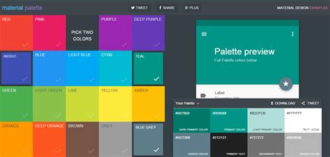 best material color combination find color inspiration in 21 apps