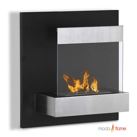 wall mounted fireplace moda madrid wall mounted ethanol fireplace