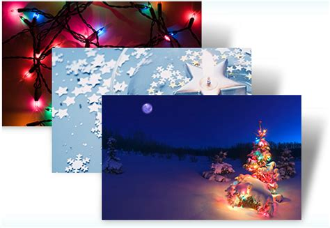 microsoft holiday lights theme pack free download