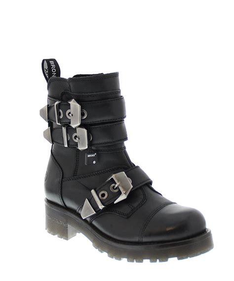 biker boots on sale bronx black leather chunky biker boots designer footwear