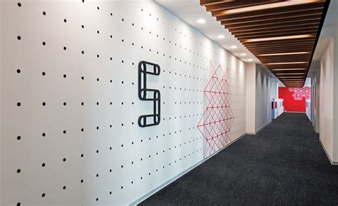 graphic design home decor wall graphics in this office were inspired by indian folk