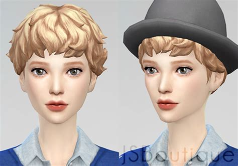 jsboutique hair 1 comes in all the default ea hair my sims 4 blog jsboutique male to female medium curly hair