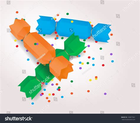 Origami Crackers - vector origami crackers 109877561