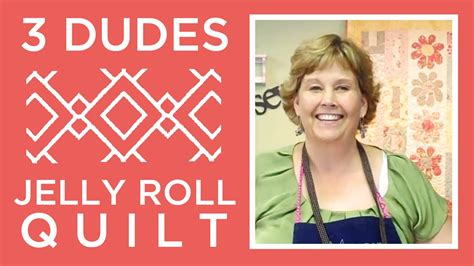 Three Dudes Jelly Roll Quilt by Amazing Jelly Roll Quilt Pattern By 3 Dudes