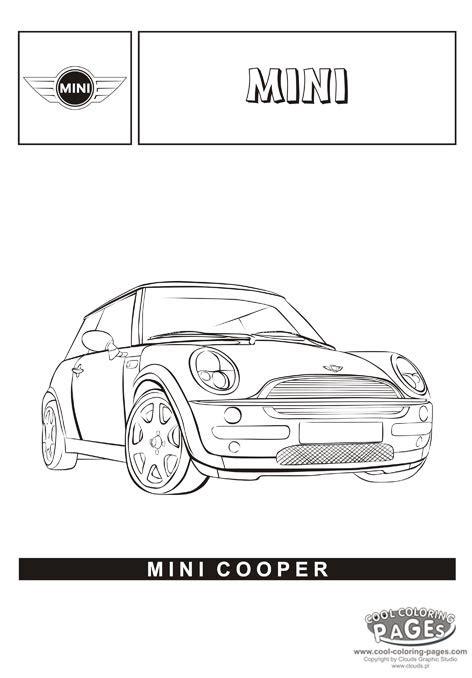 mini car coloring page mini cooper cars coloring pages cars coloring pages
