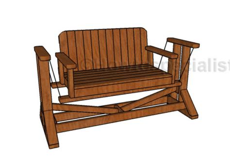 porch swing glider plans easy furniture plans woodworking pallet plans