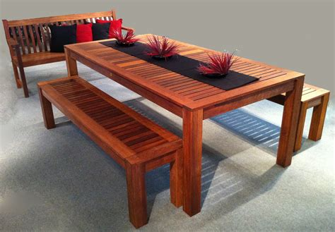 outdoor timber benches 3pc outdoor timber table setting modern patio outdoor