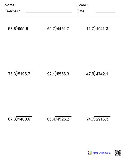 Worksheets Division by Division Worksheets Printable Division Worksheets For