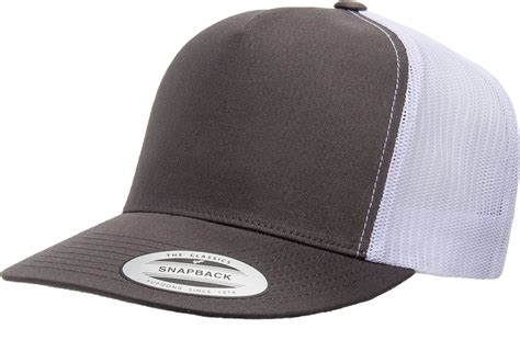1 truck cap trucker cap two tone classic cotton blend trucker cap