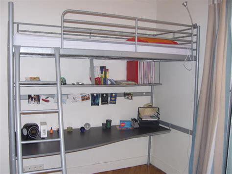 lit mezzanine avec bureau ikea lit mezzanine ikea bureau int 233 gr