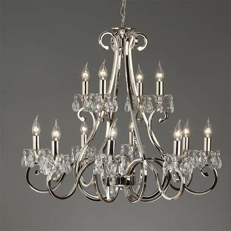 polished nickel chandeliers interiors 1900 oksana 21 light chandelier polished