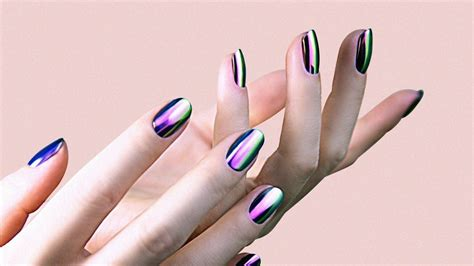 Nail Work by How Do Chrome Nails Work The Atlantic