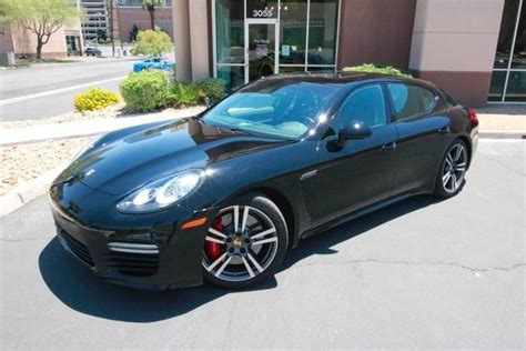 Porsche Panamera Turbo Msrp by 2014 Porsche Panamera Turbo 156 Msrp Only 10k Miles Loaded