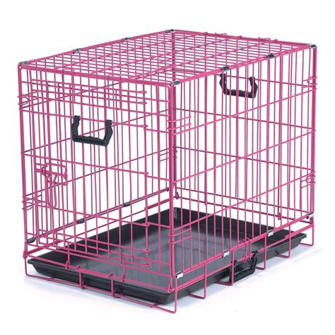 puppy crates crate appeal fashion color crates pink punch