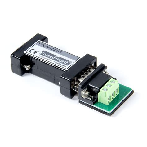 rs232 / rs485 / rs422 / ttl serial converters – commfront