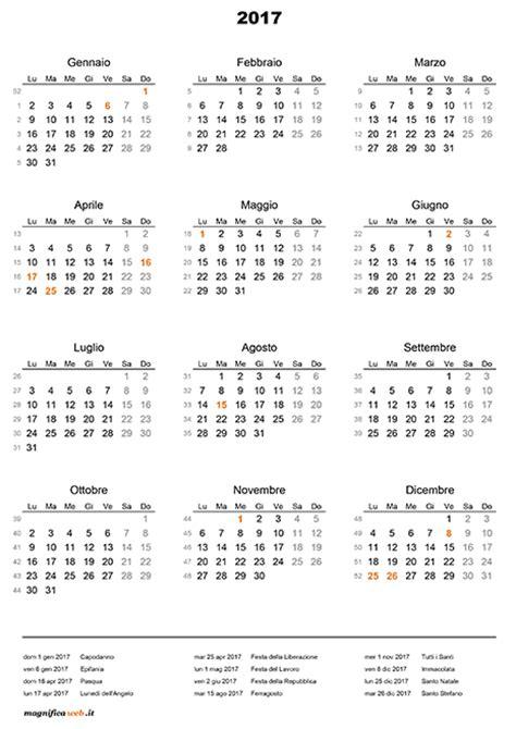 Calendario 2018 Con Festività Italiane Calendario 2017 Con Festivit 224 Da Stare In Excel E Pdf