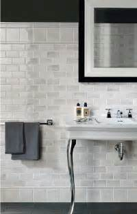 White Subway Tile Bathroom Ideas by Gray And White Subway Tile Bathroom Pinterest