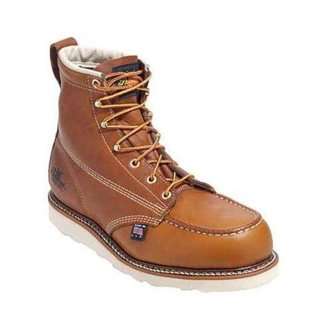 safest motorcycle boots thorogood 6 quot moc safety toe boots revzilla