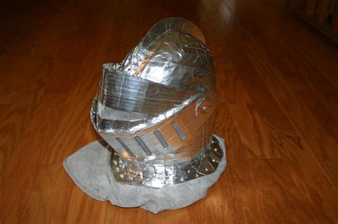 How To Make A Paper Mache Helmet - helmet made from paper mache cardboard and