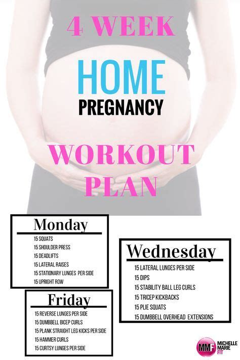 the 25 best ideas about pregnancy workout plans on