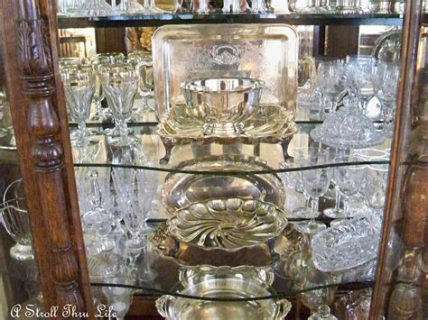 how to display crystal in china a stroll thru life crystal silver oh my