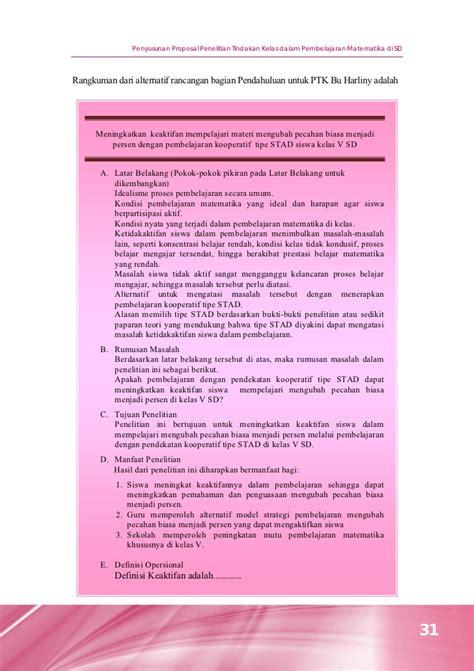 proposal penelitian tindakan kelas upaya peningkatan penyusunan proposal penelitian tindakan kelas dalam