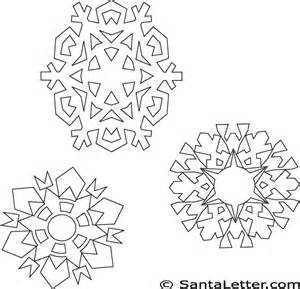 printable snowflakes coloring pages