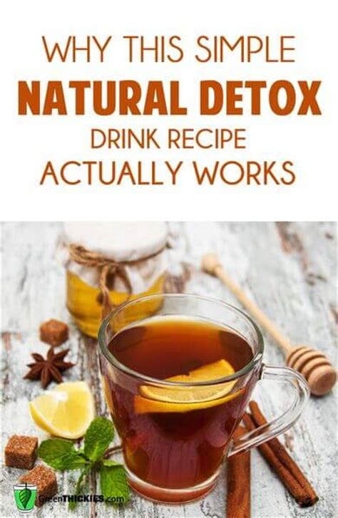 Do The Detox Drinks Actually Work by Why This Simple Detox Drink Recipe Actually Works