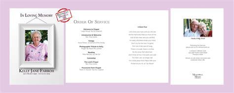 funeral service sheet template template printable funeral order of service template