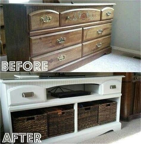 Dresser Entertainment Center by Dresser Into Entertainment Center Repurposed