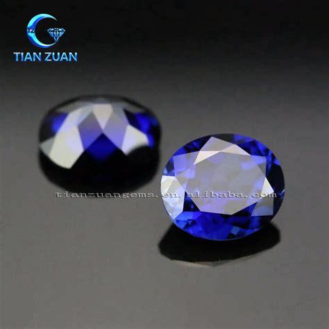 Blue Sapphire Corundum aaaaa synthetic blue sapphire blue corundum blue