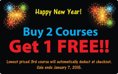 new year buy buy 2 courses get 1 free new year sale at pdresources