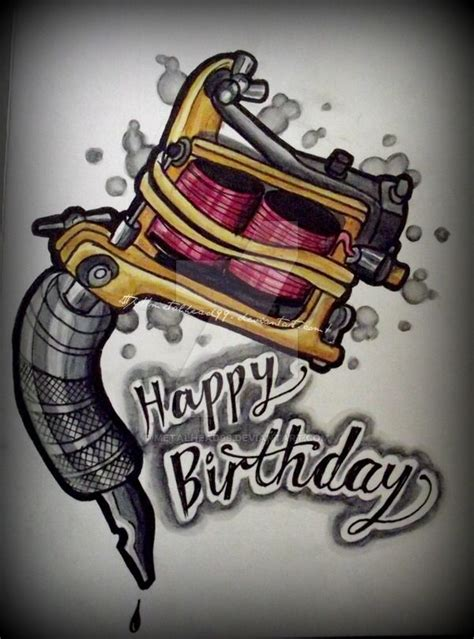 happy birthday tattoo artist 1000 ideas about happy birthday on