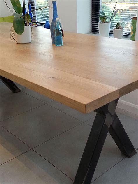 cross leg dining bespoke urban works