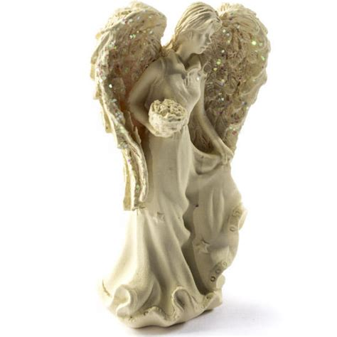 miniature winter figurines miniature with flowers figurine