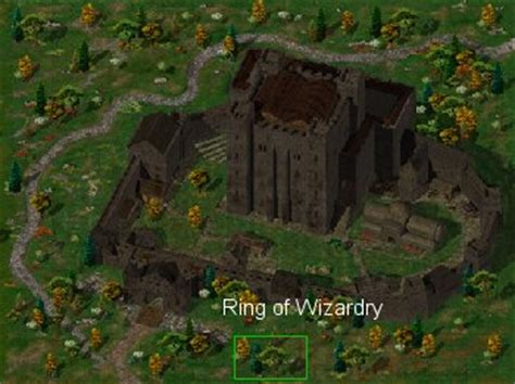 ring of wizardry, friendly arm inn, ar 2300