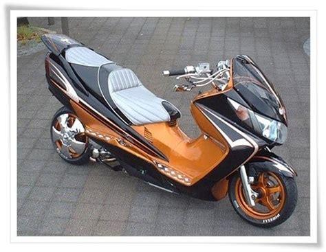 modifikasi yamaha matic foto modifikasi motor matic scooter custom