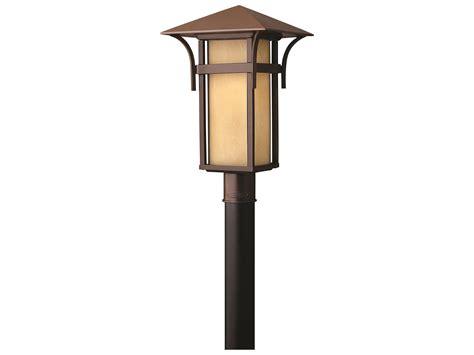 Outdoor Led Post Lights Hinkley Lighting Harbor Anchor Bronze Led Outdoor Post Light 2571ar Led