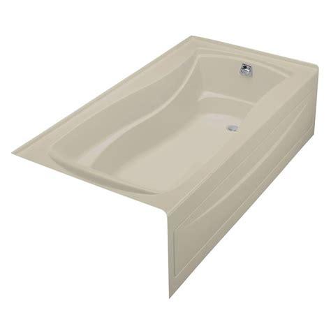 alcove whirlpool bathtub kohler mariposa acrylic right drain hourglass alcove