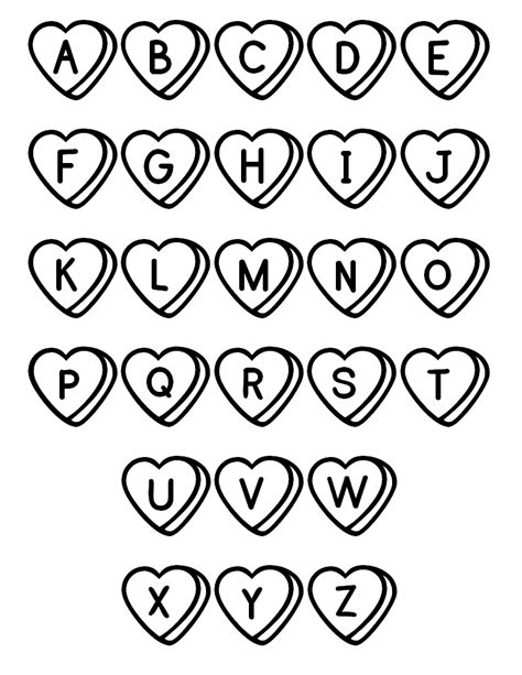 Printable Abc Coloring Pages free printable abc coloring pages for