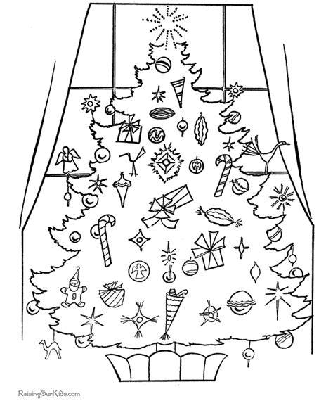 printable holiday coloring pictures free printable christmas coloring pictures a christmas tree