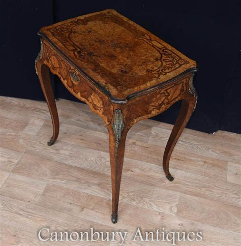 antique wood end antique french exotic wood inlay 1880