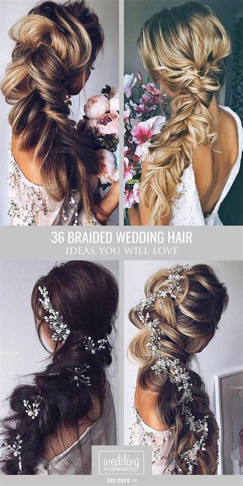 braided wedding hairstyles ideas  pinterest bridesmaid hair braided hairstyles