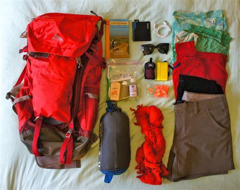 camino de santiago packing list a mountain top high camino de santiago this s