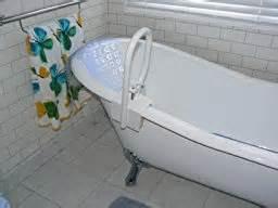 carex white bathtub rail health personal care