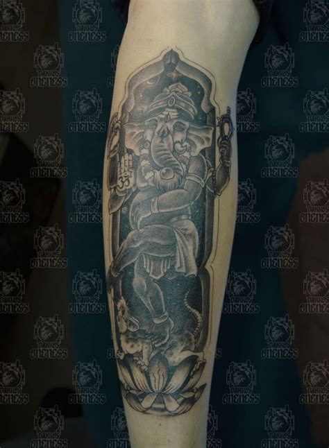 jakarta tattoo artist indonesian and indian arm ganesha tattoo by darko